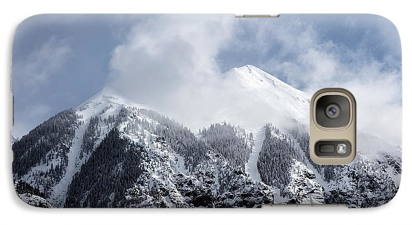 Galaxy Case featuring the photograph Magnificent Mountains In Telluride In Colorado by Carol M Highsmith