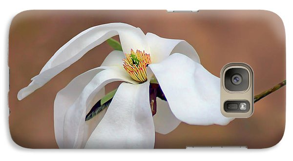 Galaxy Case featuring the photograph Magnolia Grace by Nikolyn McDonald