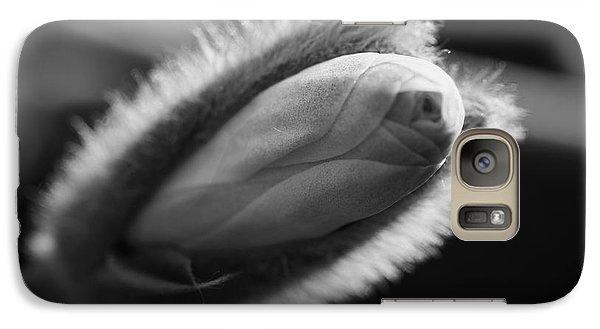 Galaxy Case featuring the photograph Magnolia Stellata Bud by Keith Elliott