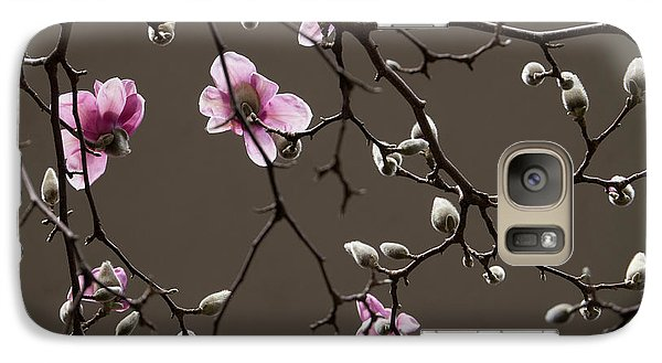 Galaxy Case featuring the photograph Magnolias In Bloom by Rob Amend