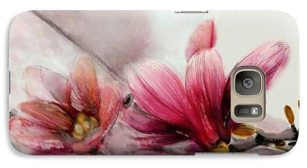 Magnolien .... Galaxy S7 Case by Jacqueline Schreiber