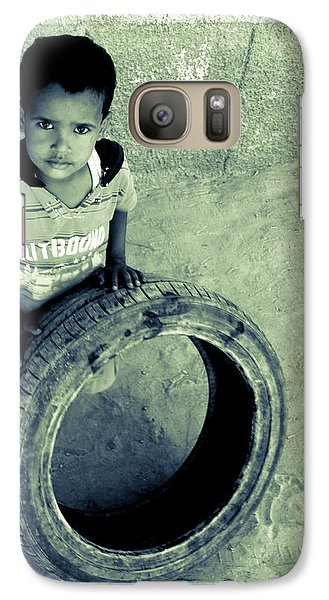 Galaxy Case featuring the photograph Magpagulong Kita by Jez C Self