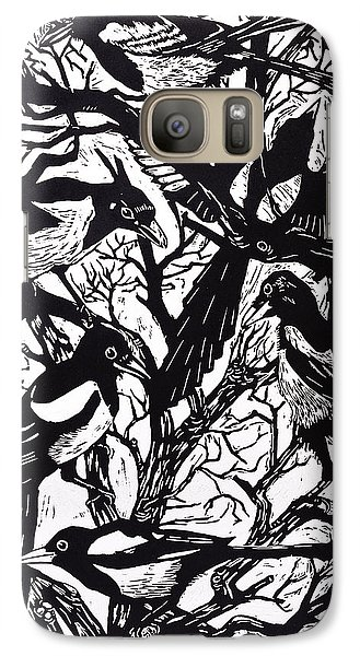 Magpies Galaxy S7 Case