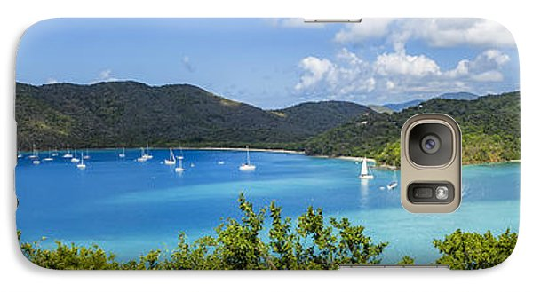 Galaxy Case featuring the photograph Maho And Francis Bays On St. John, Usvi by Adam Romanowicz