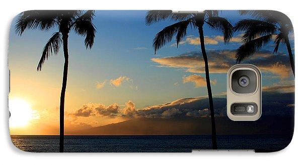 Mai Ka Aina Mai Ke Kai Kaanapali Maui Hawaii Galaxy S7 Case by Sharon Mau