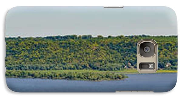 Galaxy Case featuring the photograph Maiden Rock, Wi by Dan Traun