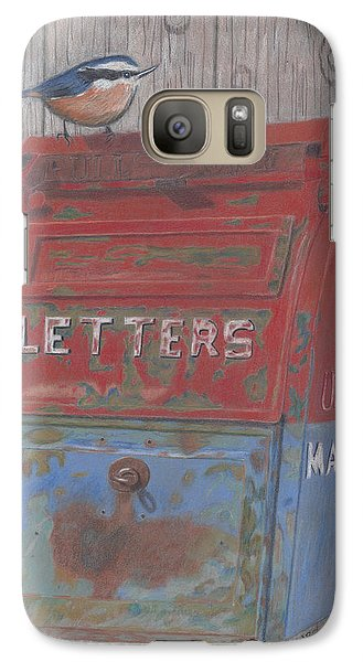 Galaxy Case featuring the painting Mail Call by Arlene Crafton