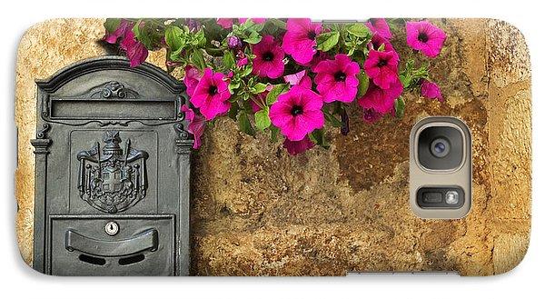 Mailbox With Petunias Galaxy S7 Case