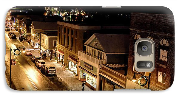 Galaxy Case featuring the photograph Main Street - Lake Placid New York by Brendan Reals
