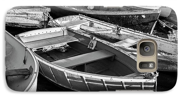 Galaxy Case featuring the photograph Maine Boats by Ranjay Mitra