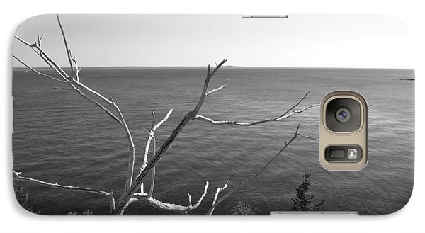 Galaxy Case featuring the photograph Maine Coastline by Corinne Rhode