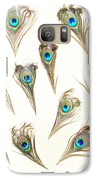 Peacock Galaxy S7 Case - Majestic Feathers by Jorgo Photography - Wall Art Gallery
