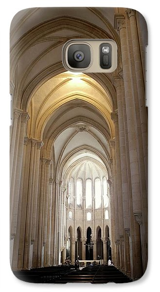 Galaxy Case featuring the photograph Majestic Gothic Cathedral In Portugal by Kirsten Giving