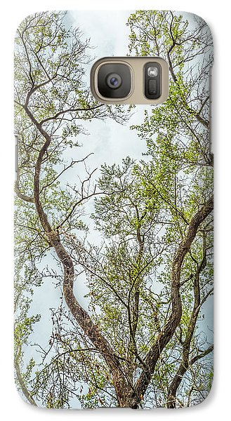 Galaxy Case featuring the photograph Majestic Mountain Mahogany by Alexander Kunz