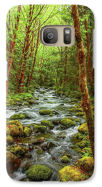 Galaxy Case featuring the photograph Majestic Stream by Tyra  OBryant