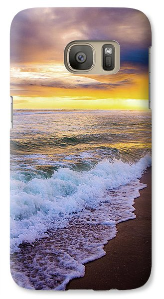 Galaxy Case featuring the photograph Majestic Sunset In Paradise by Shelby Young