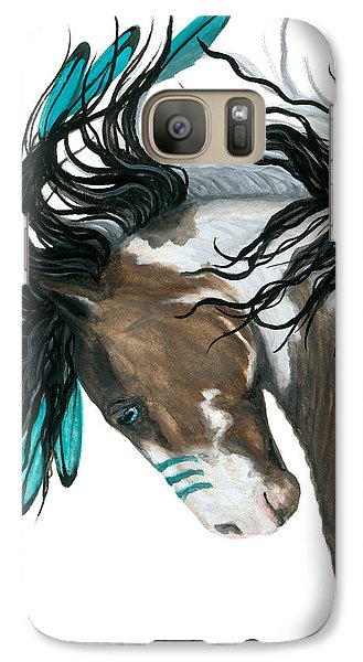 Majestic Turquoise Horse Galaxy S7 Case