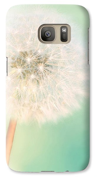Galaxy Case featuring the photograph Make A Wish - Square Version by Amy Tyler