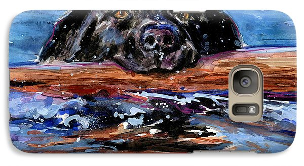 Galaxy Case featuring the painting Make Wake by Molly Poole