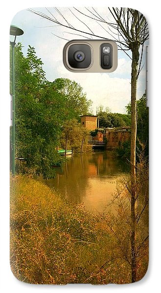 Galaxy Case featuring the photograph Malamocco Canal No2 by Anne Kotan