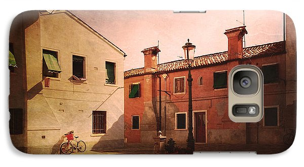 Galaxy Case featuring the photograph Malamocco Corner No2 by Anne Kotan
