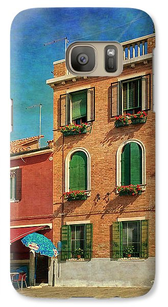 Galaxy Case featuring the photograph Malamocco Corner No3 by Anne Kotan
