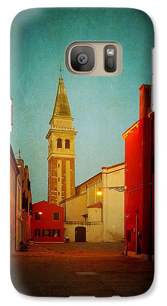 Galaxy Case featuring the photograph Malamocco Dusk No1 by Anne Kotan
