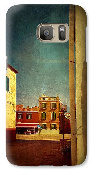 Galaxy Case featuring the photograph Malamocco Glimpse No1 by Anne Kotan