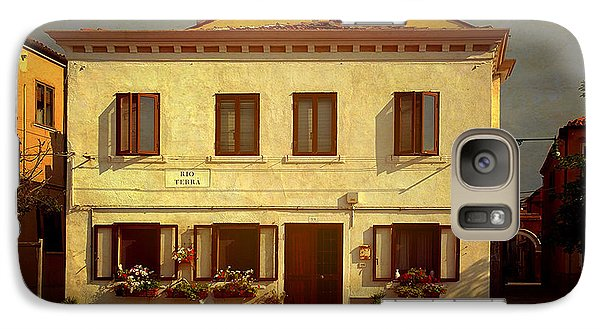 Galaxy Case featuring the photograph Malamocco House No1 by Anne Kotan