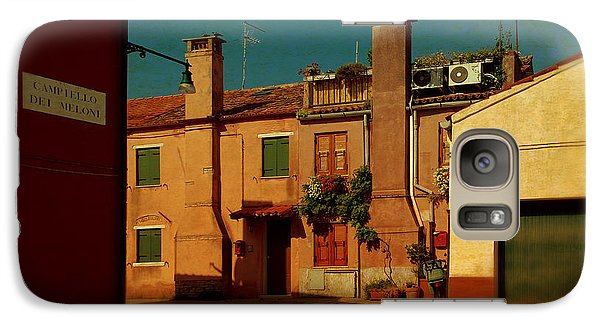 Galaxy Case featuring the photograph Malamocco House No2 by Anne Kotan