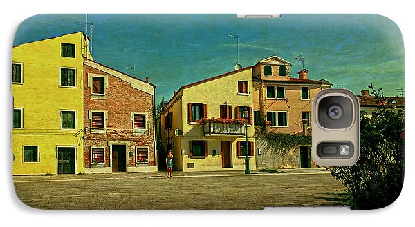 Galaxy Case featuring the photograph Malamocco Main Street No1 by Anne Kotan