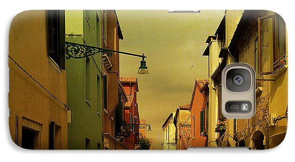 Galaxy Case featuring the photograph Malamocco Perspective No1 by Anne Kotan