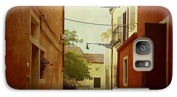 Galaxy Case featuring the photograph Malamocco Perspective No2 by Anne Kotan