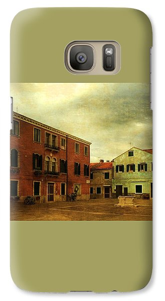 Galaxy Case featuring the photograph Malamocco Piazza No1 by Anne Kotan
