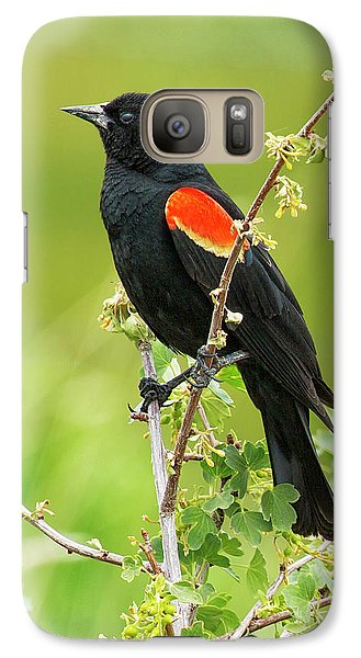Male Red-winged Blackbird Galaxy S7 Case