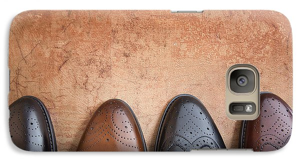 Galaxy Case featuring the photograph Male Shoes by Andrey  Godyaykin