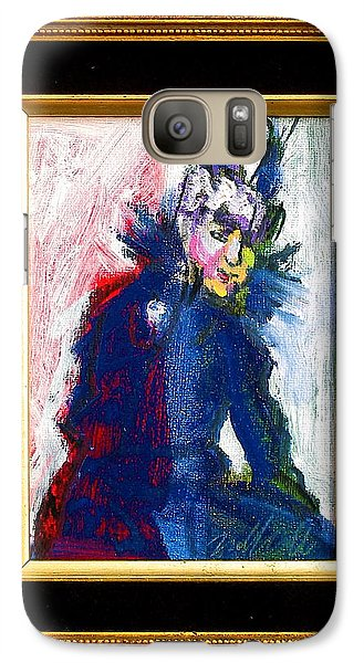 Galaxy Case featuring the painting Mamie by Les Leffingwell