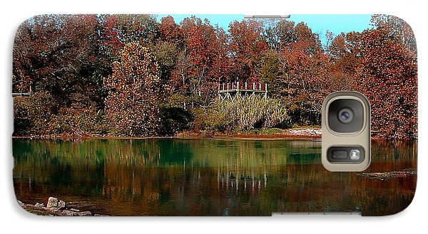 Galaxy Case featuring the photograph Mammoth Springs by Rick Friedle