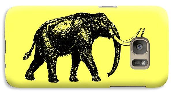 Mammoth Tee Galaxy S7 Case by Edward Fielding