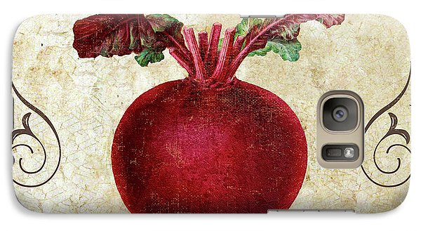 Mangia Radish Galaxy S7 Case by Mindy Sommers