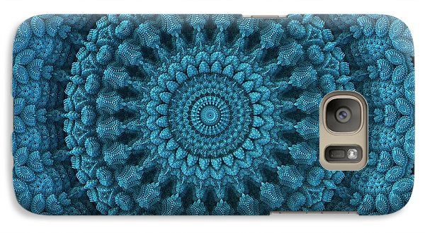 Galaxy Case featuring the digital art Mandala For The Masses by Lyle Hatch