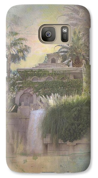 Galaxy Case featuring the digital art Mandalay Bay by Christina Lihani