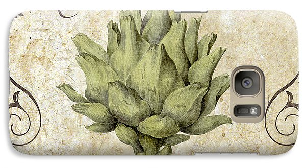Mangia Carciofo Artichoke Galaxy S7 Case by Mindy Sommers