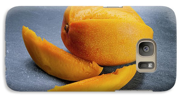 Mango Galaxy S7 Case - Mango And Slices by Elena Elisseeva