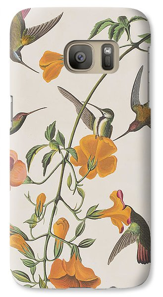 Mango Galaxy S7 Case - Mango Humming Bird by John James Audubon