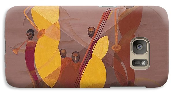 Mango Galaxy S7 Case - Mango Jazz by Kaaria Mucherera