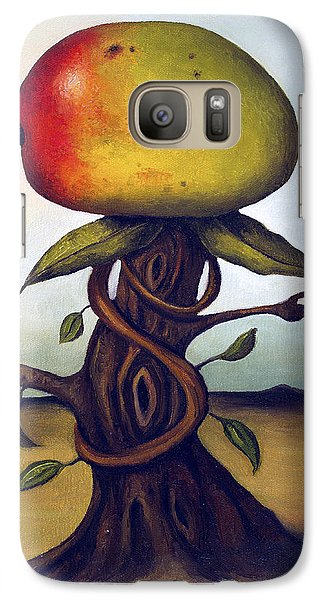 Mango Galaxy S7 Case - Mango Tree Aka Senor Mango by Leah Saulnier The Painting Maniac