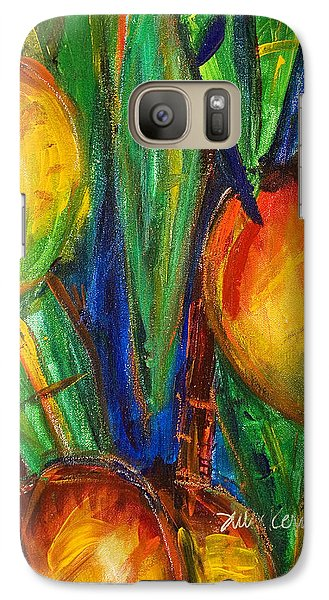 Mango Galaxy S7 Case - Mango Tree by Julie Kerns Schaper - Printscapes