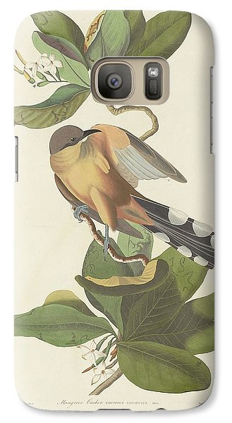 Mangrove Cuckoo Galaxy S7 Case by Dreyer Wildlife Print Collections