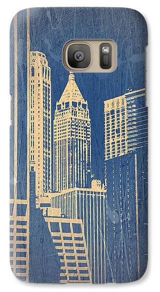 Manhattan 1 Galaxy S7 Case by Naxart Studio
